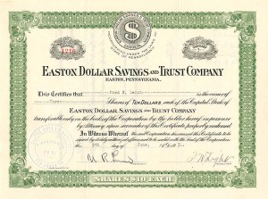 Easton Dollar Savings and Trust Company