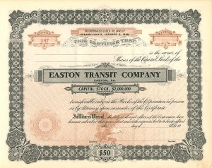 Easton Transit Company