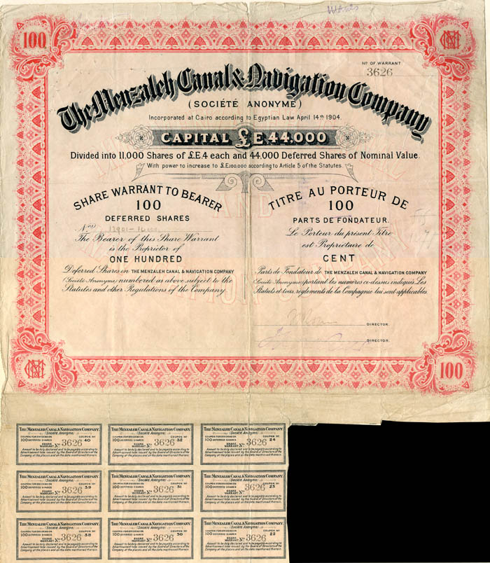 Menzaleh Canal and Navigation Company