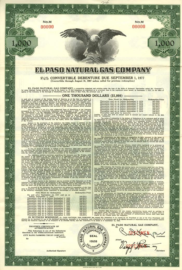 El Paso Electric Company - Bond