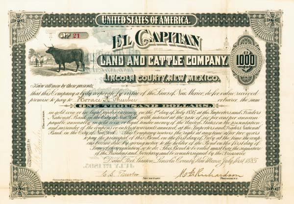 El Capitan Land & Cattle Company - SOLD