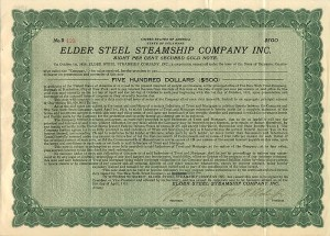 Elder Steel Steamship Company Inc.