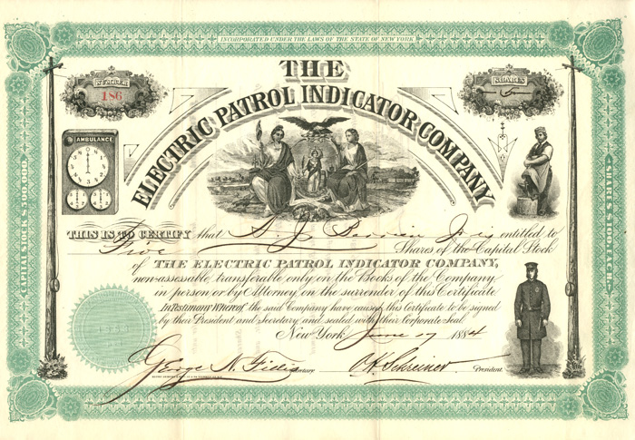 Electric Patrol indicator Company