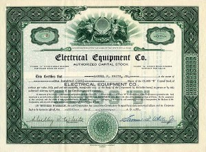 Electrical Equipment Co.