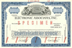 Electronic Associates, Inc. - SOLD
