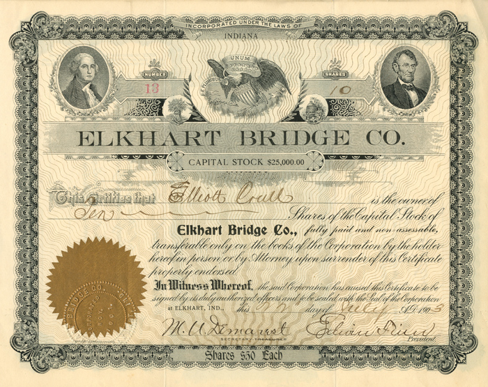 Elkhart Bridge Co. - SOLD