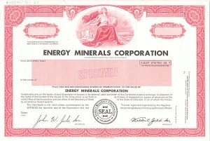 Energy Minerals Corporation