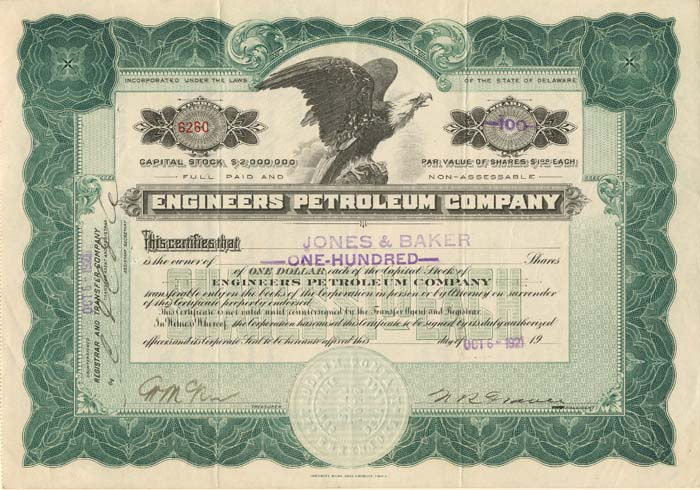 Engineers Petroleum Company