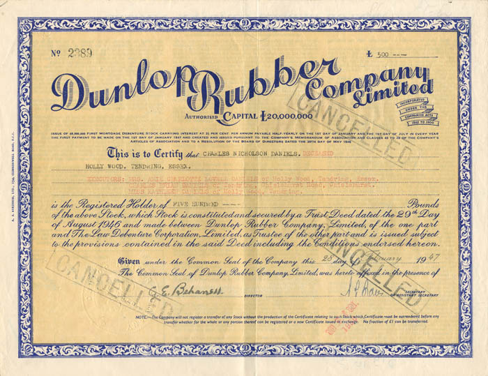 Dunlop Rubber Company Limited
