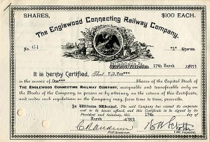 Englewood Connecting Railway Company - SOLD