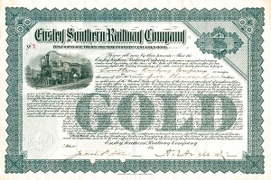 Ensley Southern Railway - Bond - SOLD