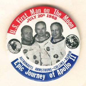 Epic Journey of Apollo 11 Pin - SOLD