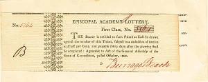 Episcopal Academy Lottery Ticket - SOLD