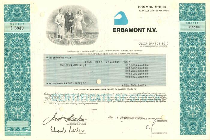 Erbamont N.V.