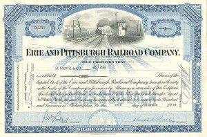 Erie and Pittsburgh Railroad Conpany