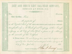 Erie and North East Rail-Road Company