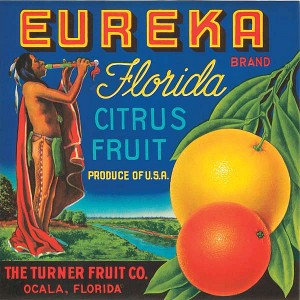 Fruit Crate Label - Eureka