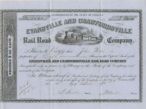 Evansville and Crawfordsville Railroad Company