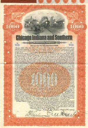Chicago Indiana and Southern Railroad Company