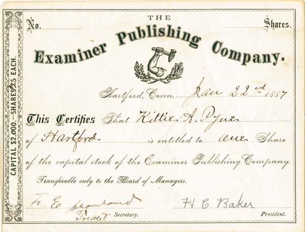 Examiner Publishing Company