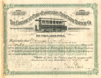 Fairmount Park and Haddington Passenger Railway Co. - SOLD