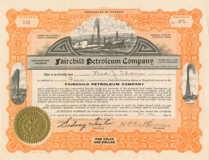 Fairchild Petroleum Company
