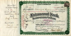 Fairmount Park Transportation Company