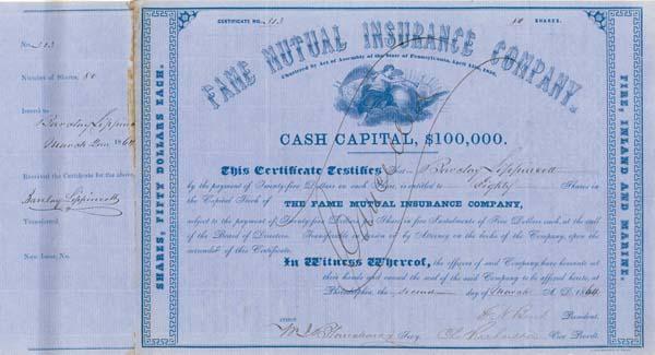 Fame Mutual Insurance Company