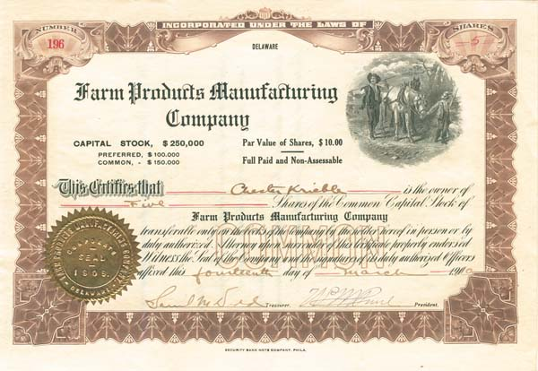 Farm Products Manufacturing Company