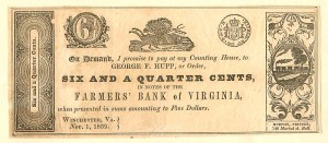 Farmers' Bank of Virginia - SOLD