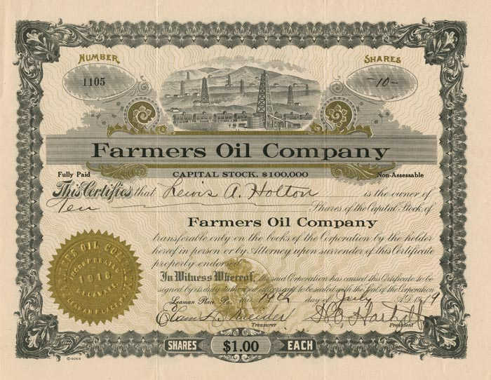 Farmers Oil Company
