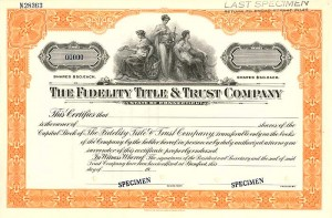 Fidelity Title & Trust Company