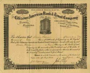 Citizens American Bank & Trust Company