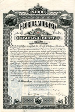 Florida Midland Railway Company - SOLD