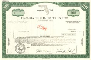 Florida Tile Industries, Inc