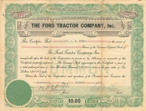 Ford Tractor Company, Inc.