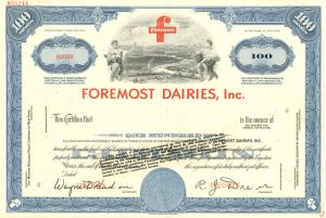 Foremost Dairies, Inc