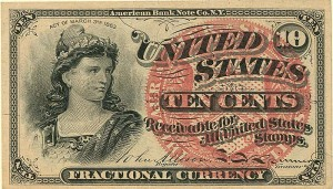Fractional Currency - FR-1258