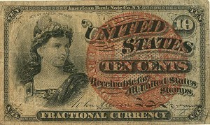 Fractional Currency - FR-1259 - SOLD