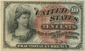 Fractional Currency - FR-1261
