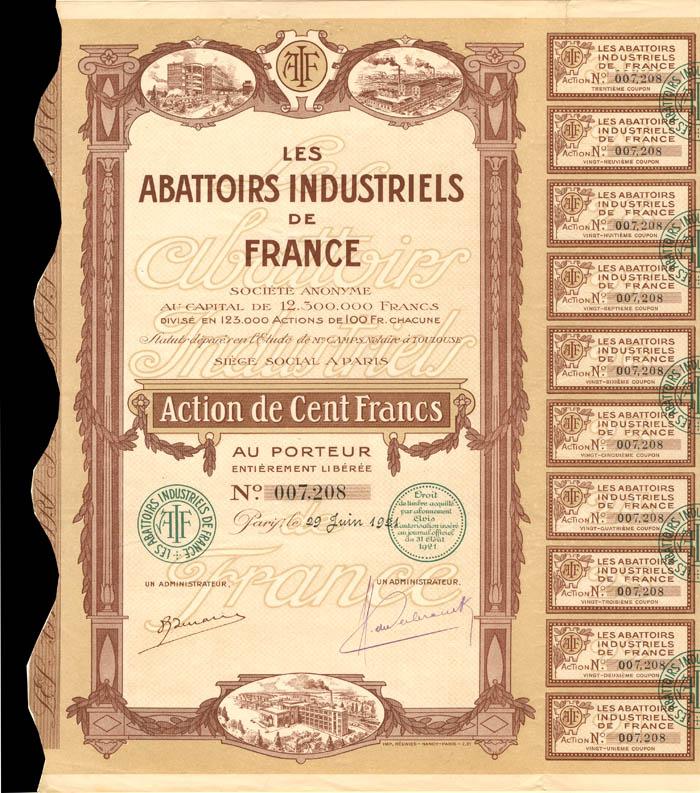 Les Abattoirs Industriels De France