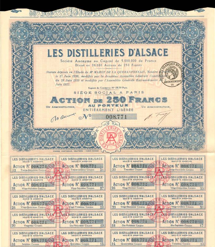 Les Distilleries D'Alsace