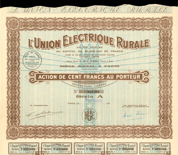 L'Union Electrique Rurale