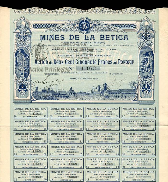 Mines De La Betica