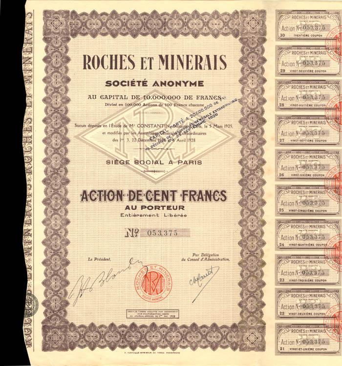 Roches Et Minerais