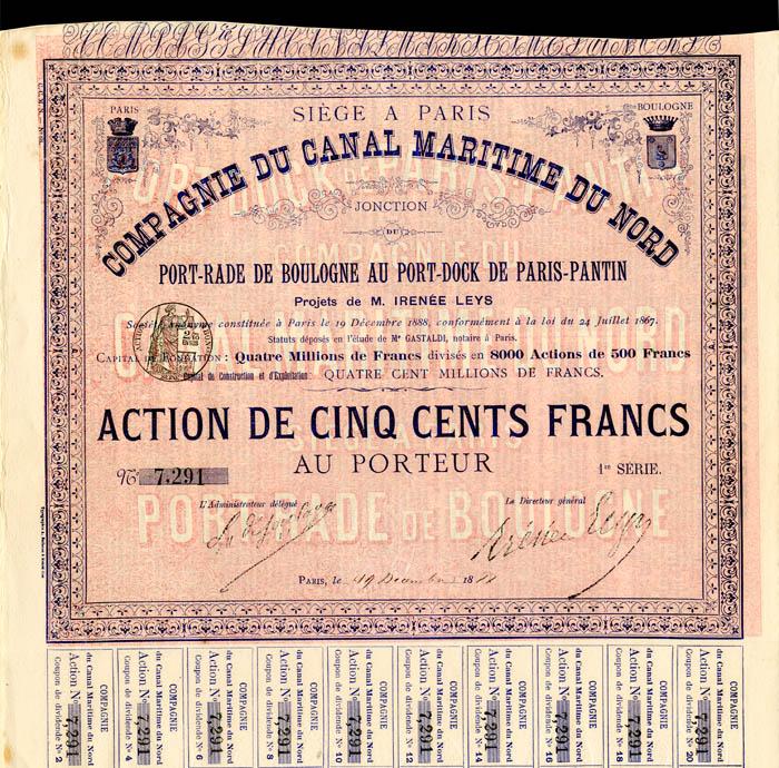 Compagnie Du Canal Maritime Du Nord