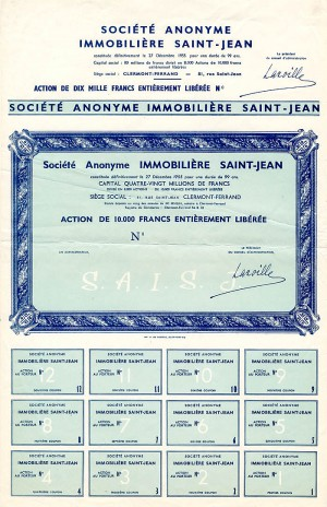 Societe Anonyme Immobiliere Saint-Jean