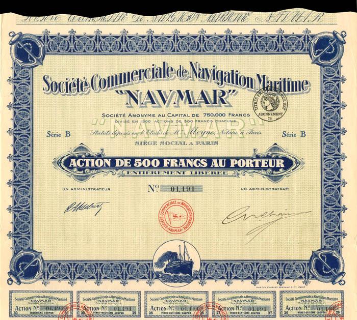 "Societe Commerciale de Navigation Maritime ""Navmar"""