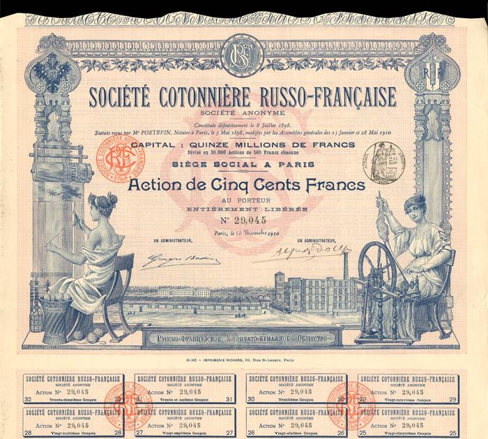 Societe Cotonniere Russo-Francaise