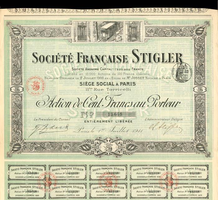 Societe Francaise Stigler